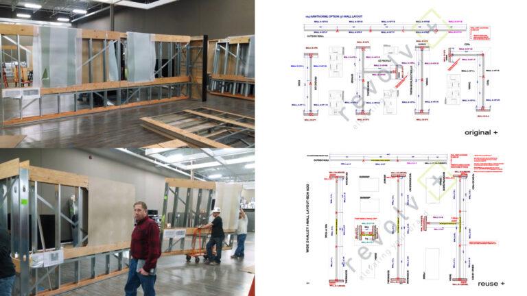revolv+ Manufacturing modular Reuse Retail